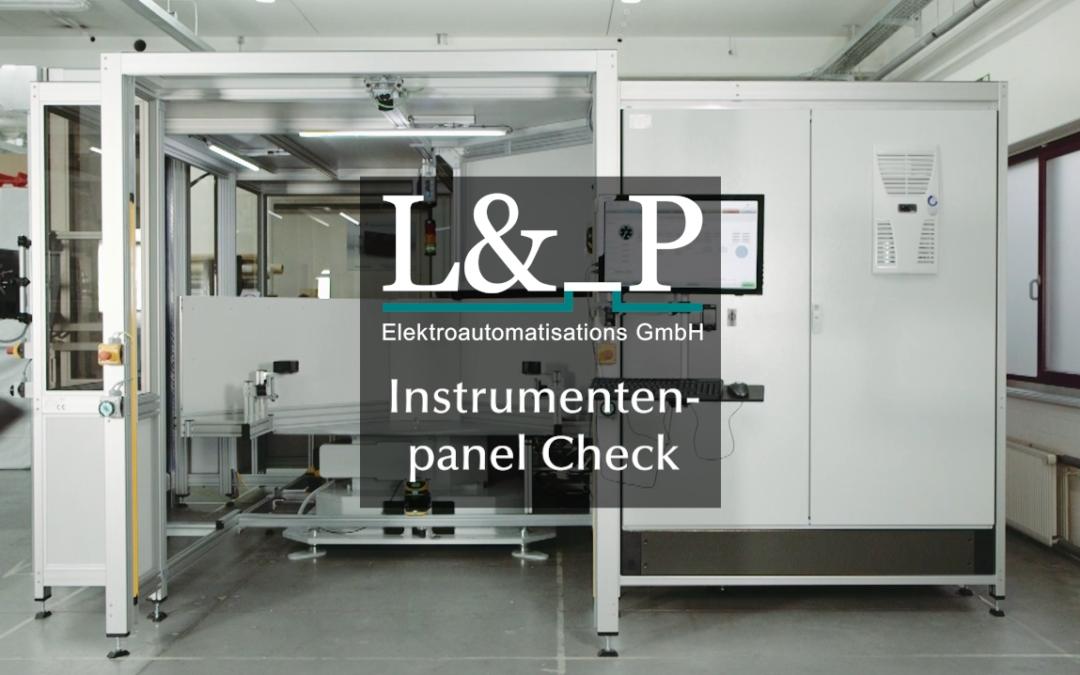 Instrumentenpanel Check – Prüfsystem by L&_P GmbH