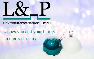 """L & _P GmbH"""" wishes you a Merry Christmas!"""