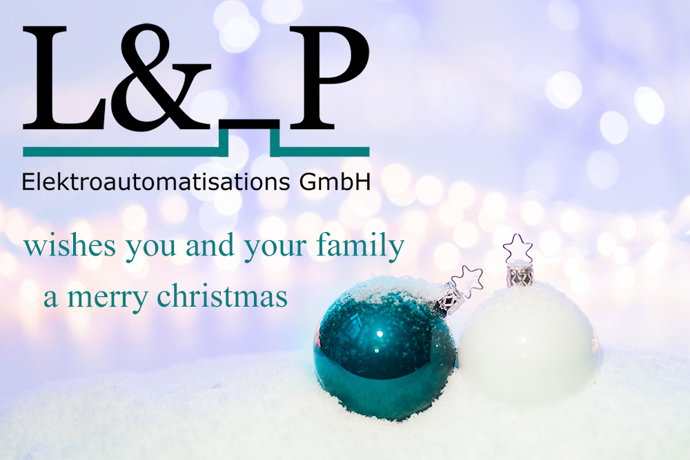 "L & _P GmbH"" wishes you a Merry Christmas!"